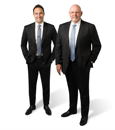 Matt Kanoudi and Larry Weichman, Principals of The L3 Real Estate