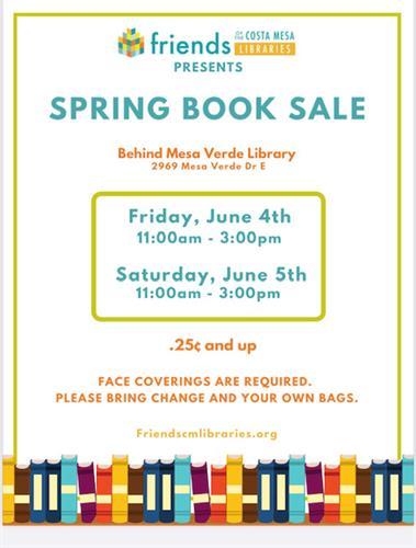 Spring Book Sale!