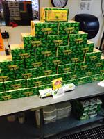 The ancient pyramid of lunch boxes!