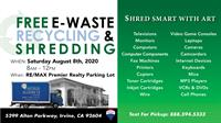 2020 EWaste | Shred SmArt with Art! Free