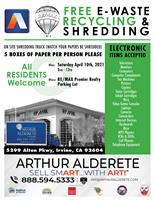 2021 EWaste | Shred SmArt with Art! Free