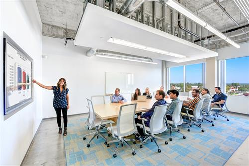Large On-Demand Conference Room