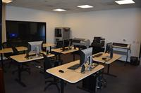 Computer lab features design software from Solidworks and Autodesk, Adobe, and much more