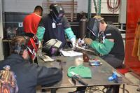 Miller MIG and TIG welders are available in the weld shop along with torches, surface plates and fixturing tools