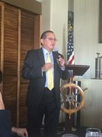 Mexican consul at Balboa Yacht Club with Orange County Hispanic Chamber of Commerce