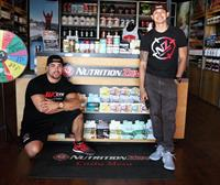 Nutrition Zone Owners Jimmy Perez & Sean Davis