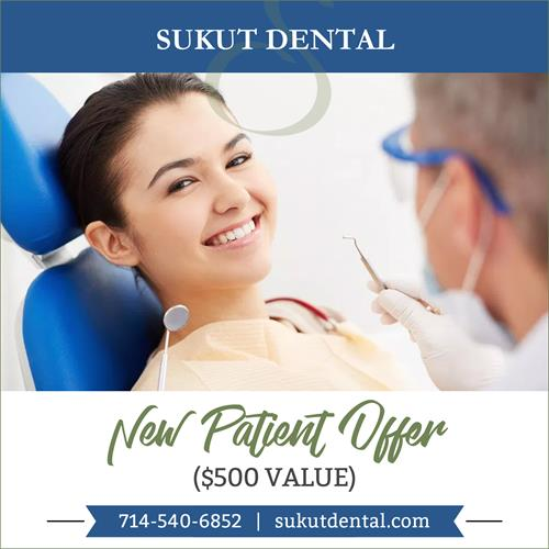 New Patient Offer From Sukut Dental