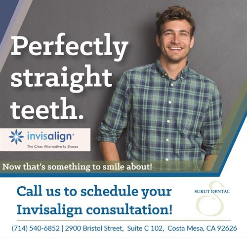 Make your appointment for your Invisalign consultation today!