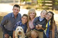 Dr. Karly Sukut--Neppl and her family