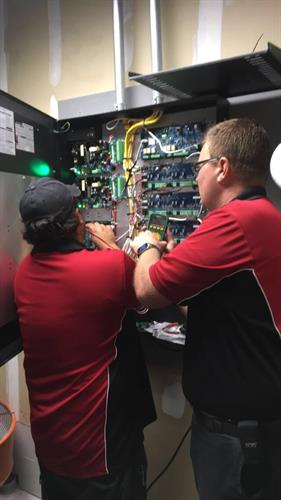 Access control installation and repair.