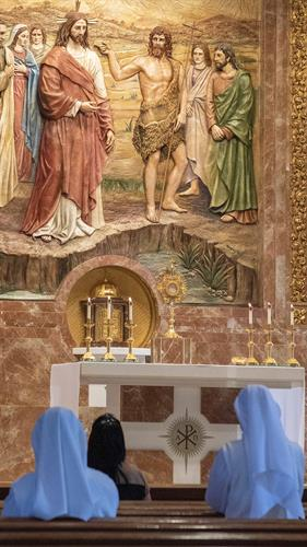 Worship - Holy Hour from 4 to 4:50 pm every weekday