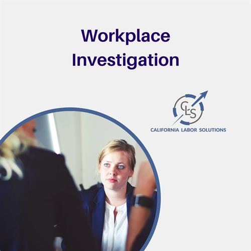 Workplace Investigation
