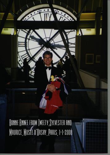 I love Paris- January 1, 2000