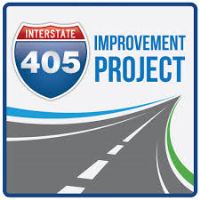 405 Freeway Expansion Bridge Construction Map