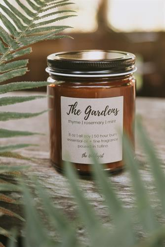 The Gardens candle