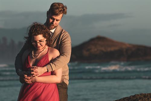 Tofino offers beautiful endless landscapes for elopement portraits