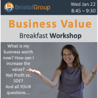Business Value Workshop Presented by Bristol Group