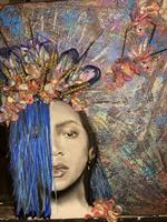 Beyoncé in Blue now on Display and Peace and Kava 823 Kerr Plaza Wilmington NC