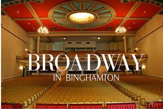 Broadway in Binghamton