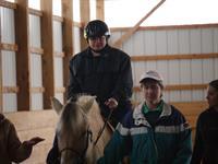 Student & Horse (Bella-JK-zip13787)