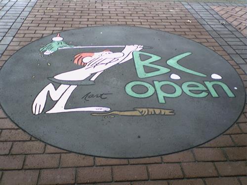 BC Open Logo EnJoie Golf Course Endicott