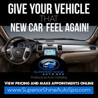 Give Your Vehicle That New Car Feel Again