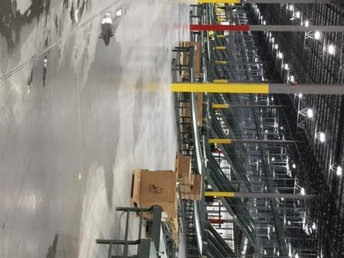 Water clean up at the New Dick's Sporting Distribution Center