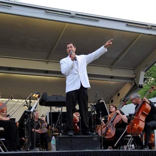 Maestro Daniel Hege and the Philharmonic