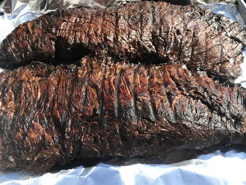 Black Nugget Marinated Flank Steak