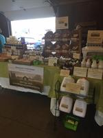 Our table at the Broome County Regional Farmer's Market