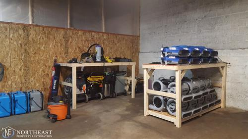 Northeast Property Restoration Garage