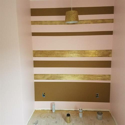 Interior Paint with special wall design