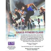Dance Fitness Class hosted by Mercy Health