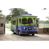 50-min. narrated Trolley Tours of Historic Fort Scott on the hour, Fridays 11am-4pm, Saturdays 10am-4pm, leaving from the Convention & Visitors Bureau at 231 E. Wall St., $6 adults, $4 children 12 and under, last tour leaves at 3pm.