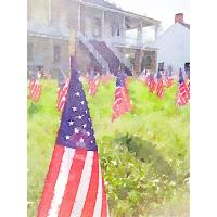 Symbols of Sacrifice Commemoration and Fourth of July Activities to be held at Fort Scott National Historic Site