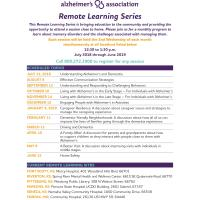 Living with Alzheimer's in the Early Stage - For Individuals with Alzheimer's