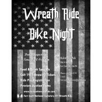 Wreath Ride Bike Night at Holmtown Pub