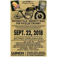 Paizlee Crumby Motorcycle Ride Benefit & More at Buck Run Community Center