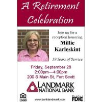 A Retirement Celebration: Millie Karleskint