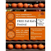 FREE FALL KID'S FESTIVAL HOSTED BY FSCC COMMUNITY RELATIONS!!