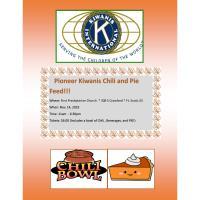 Pioneer Kiwanis Chili and Pie Feed!