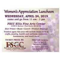 Women's Appreciation Fair & Luncheon @ FSCC