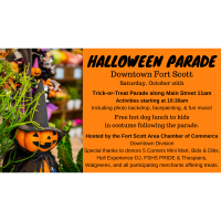 Halloween Parade & Festivities in Downtown Fort Scott