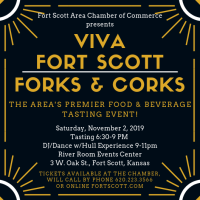 Forks & Corks ~ A Taste of Fort Scott ~ 16th Annual!