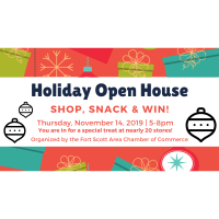 Holiday Open House in Fort Scott!