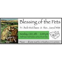 Blessing of the Pets hosted by Fort Scott Paws & Claws