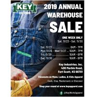 Key Apparel Annual Warehouse Sale