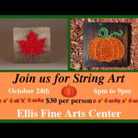 FSCC IS HOSTING STRING ART AT ELLIS FINE ARTS CENTER