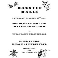 "UNIONTOWN HIGH SCHOOL ""HAUNTED HALLS"""