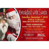 FSCC - FREE Breakfast with Santa, 12-7 @ 8am -11 am